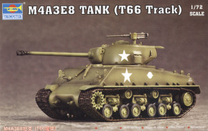 Trumpeter 1 72nd Scale M4a3e8 Sherman Kit Preview