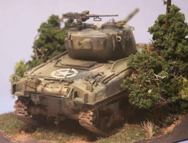 Building a Second Generation, M4A1 Sherman in 1/72nd Scale