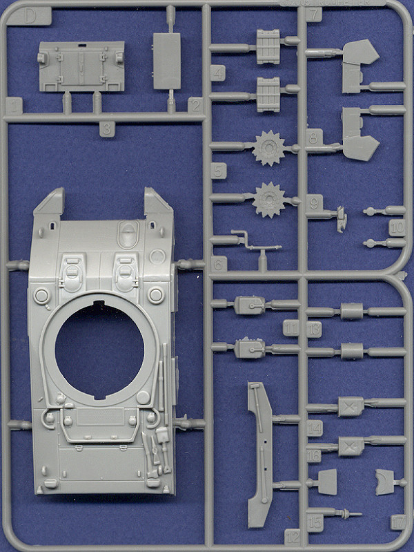 TRUMPETER 07223 M4 Tank Mid Production 1:72 scale